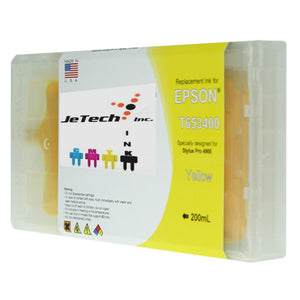 Epson T653400 Compatible Yellow 200ml Ink Cartridge