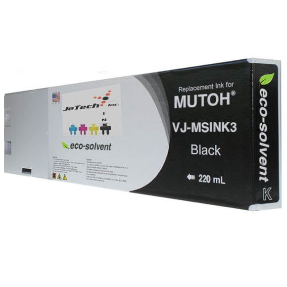 Mutoh VJ-MSINK3A 220ml Black