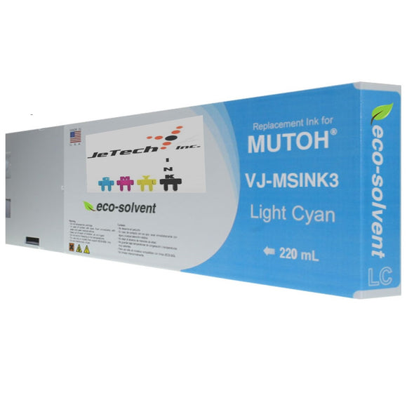 InXave Mutoh VJ-MSINK3A 220ml Light Cyan