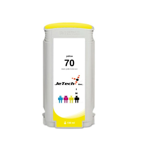 HP70 C9454A 130ml Cartridge Yellow