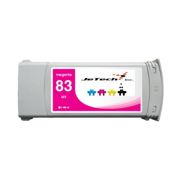 HP83 compatible UV ink cartridge C4942a Magenta