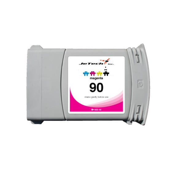 HP90 C5063A 400ml compatible ink cartridge Magenta