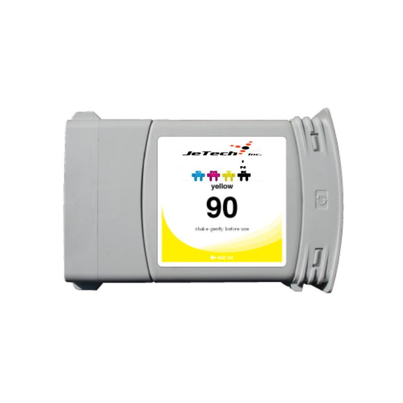 InXave HP90 C5065A 400ml compatible ink cartridge Yellow