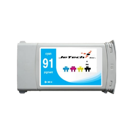 HP HP91 C9467A compatible ink cartridge 775ml cyan