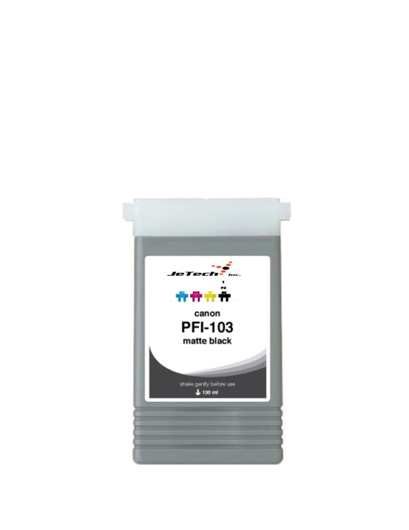 Canon PFI-103MBK Matte Black 130mL Ink cartridge