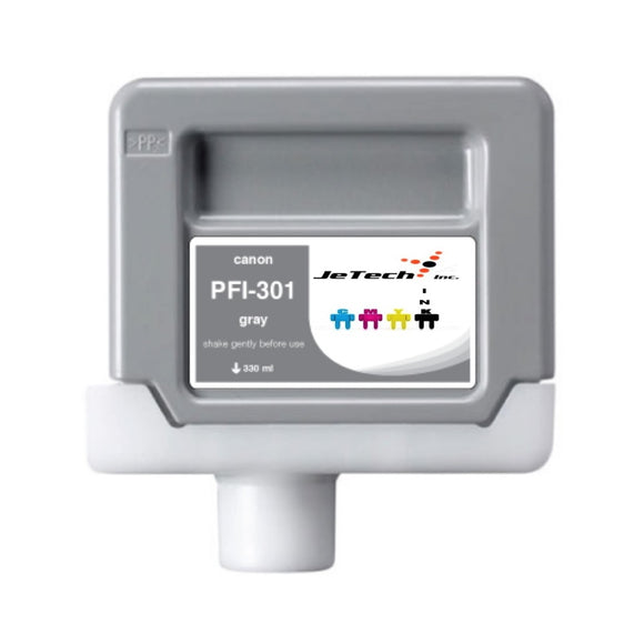Canon PFI-301 330ml Ink Cartridge Gray