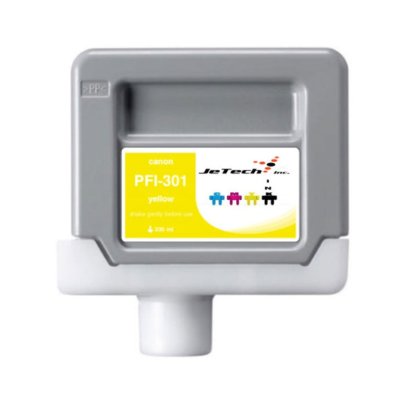 Canon PFI-301 330ml Ink Cartridge Yellow