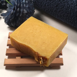 Carrot & Turmeric Soap | Naturals Collection | Handmade, Artisan, Vegan, & Detoxing Clean | Loveless Soap