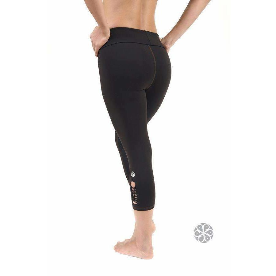 Believe Capri Leggings - Uranta Mindful Clothing