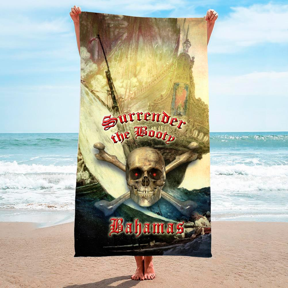 Bahamas Surrender The Booty - Premium & Standard Towel