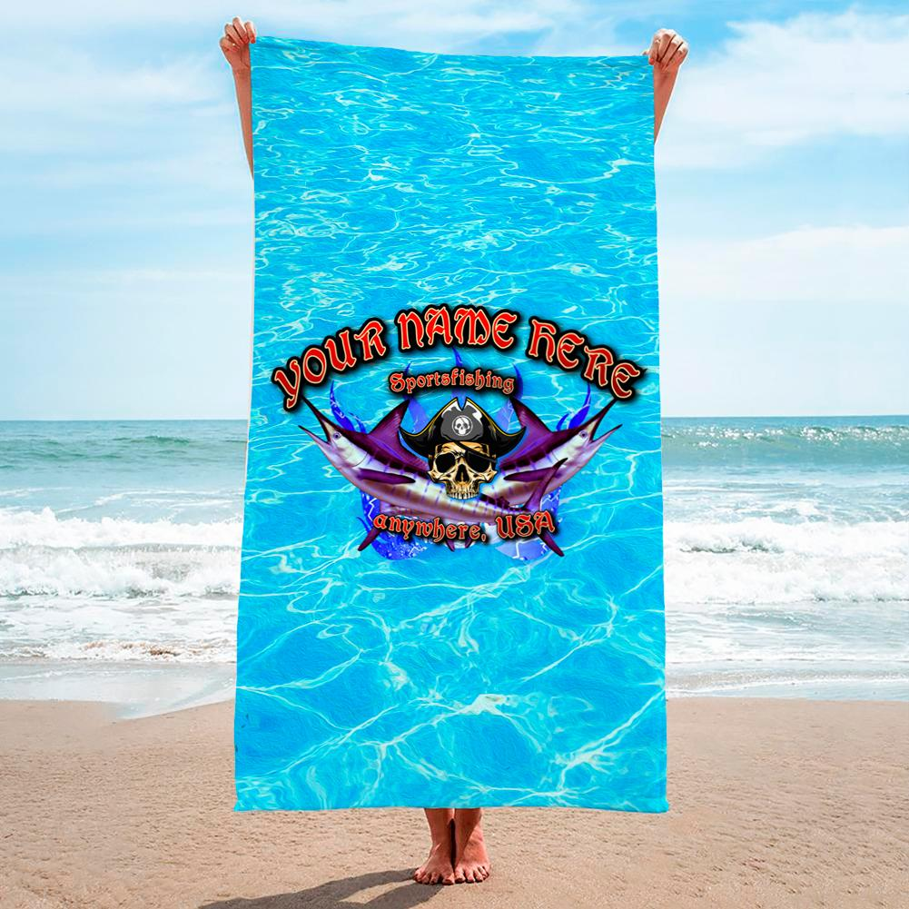 Pirate Fishing Crystal Waters - Premium & Standard Towel