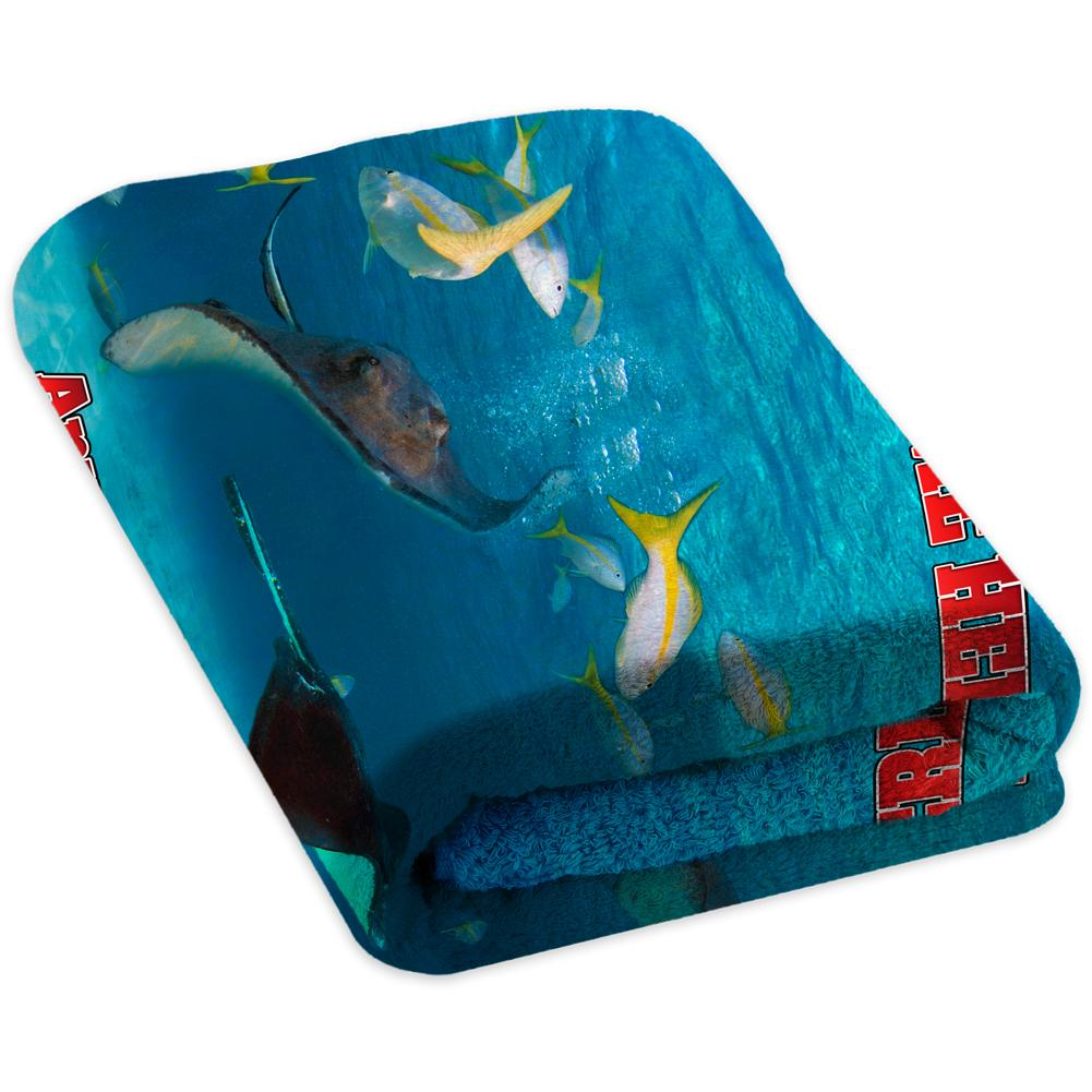 Stingray Frenzy - Premium & Standard Towel
