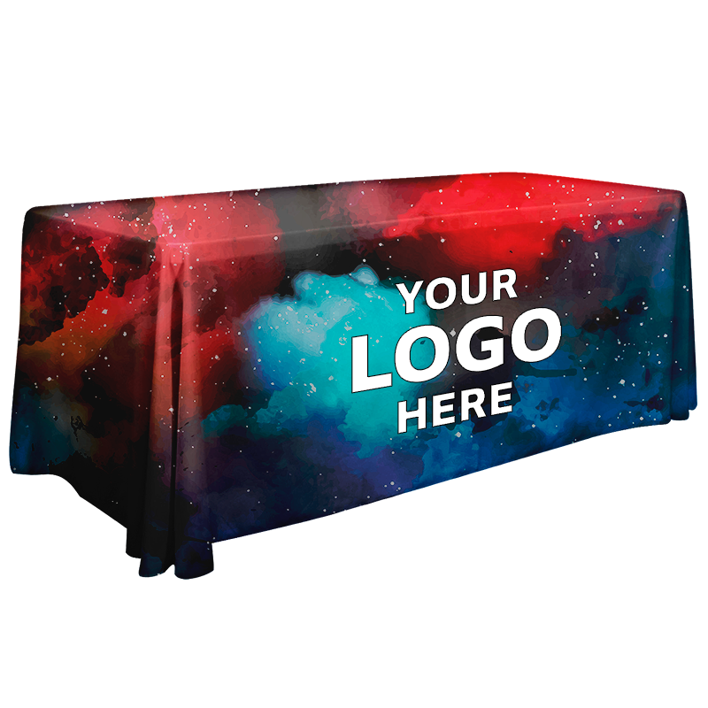 4ft Promotional Tablecloths - Full Color Print