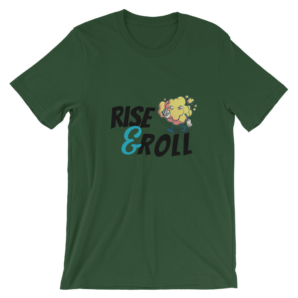 Rise and Roll Short-Sleeve Unisex T-Shirt