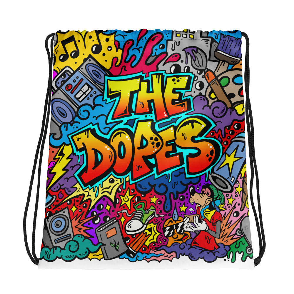 The Dopes Drawstring bag