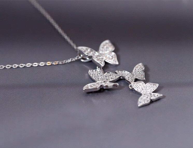 Real 925 sterling necklaces