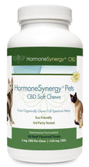 HormoneSynergyPets CBD - Zero THC CBD K9 Soft Chews for Dogs - 60 ea. Soft Chews! FREE  US SHIPPING! ***Please call 503-230-7990 to order by phone***
