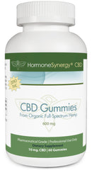 600 mg. CBD Gummies - Full Spectrum Nano-Emulsion CBD - 60 ea. 10 mg. Gummies | FREE US SHIPPING!