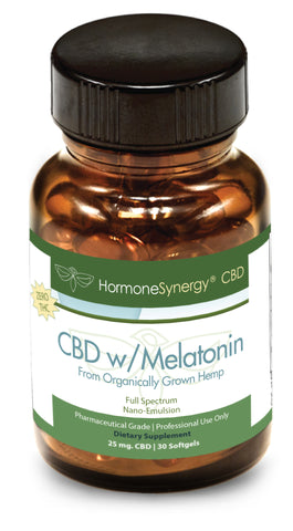 750 mg. CBD Softgels w/ 1 mg. Melatonin and 1 mg. Chamomile | FREE US SHIPPING! ***Please call 503-230-7990 to order by phone***