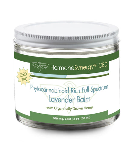 500 mg. Phytocannabinoid-Rich (PCR) Full Spectrum Lavender / Eucalypus Balm - CBD - FREE US SHIPPING! ***Please call 503-230-7990 to order by phone***