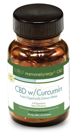 750 mg. Phytocannabinoid-Rich (PCR) CBD Hemp Oil Nano-emulsion Softgels with Curcumin - FREE PRIORITY US SHIPPING!