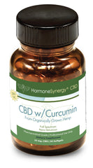750 mg. Phytocannabinoid-Rich (PCR) CBD Hemp Oil Nano-emulsion Softgels with Curcumin - FREE US SHIPPING!