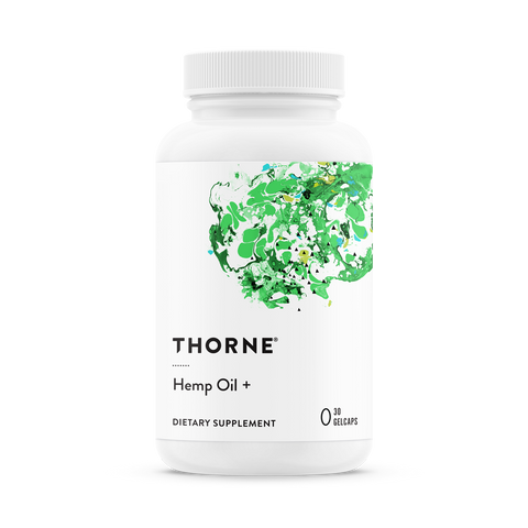 Thorne Hemp Oil Plus | 20 mg. CBD per Serving | FREE US SHIPPING!