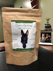 CanineSynergy™ CBD - Zero THC CBD K9 Soft Chews for Dogs - 60 ea. Soft Chews! FREE PRIORITY US SHIPPING!