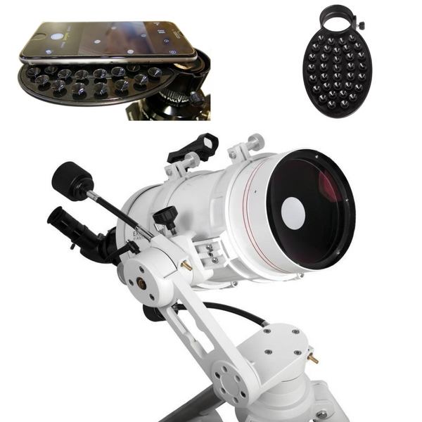 Explore Scientific FirstLight 152mm Maksutov-Cassegrain W/ AZ Mount + Smartphone Camera Adapter