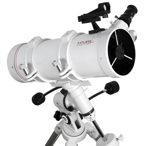 Explore Scientific FirstLight 114mm Newtonian W/ EXOS Nano EQ