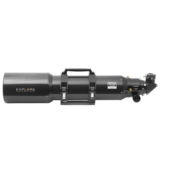 "Explore Scientific 140mm Carbon Fiber APO ED Triplet Refractor with 3"" Starlight FeatherTouch Focuser"