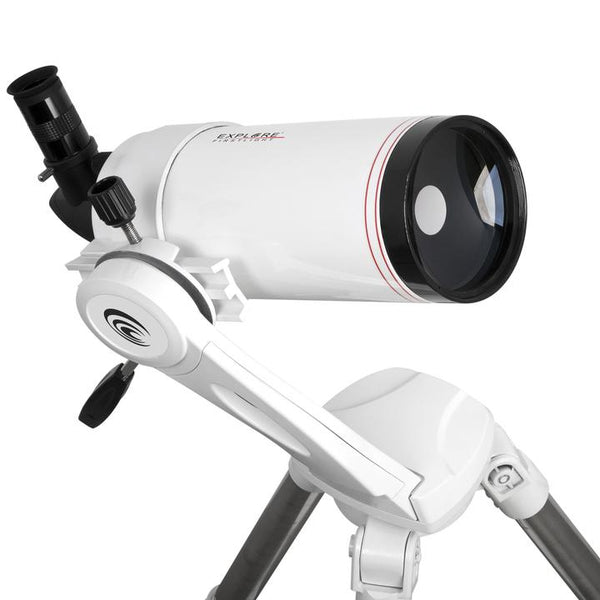 Explore Scientific FirstLight 100mm Maksutov-Cassegrain W/ AZ Mount + Smartphone Camera Adapter