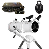 Explore Scientific FirstLight 114mm Newtonian W/ Twilight Nano Mount + Smartphone Camera Adapter