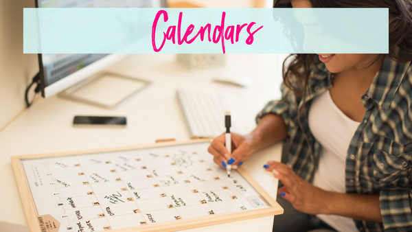 Using a calendar to track your fitness and health goals