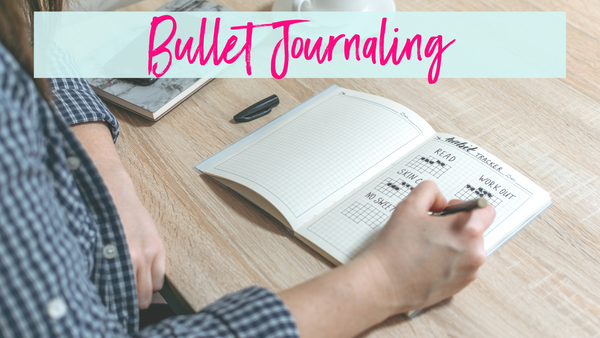 Bullet Journaling fitness and health goal tracking