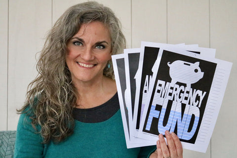 Heidi Nash with Emergency Fund charts