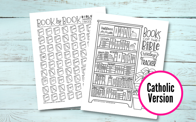 Bible reading trackers printable download bookshelf books of the bible