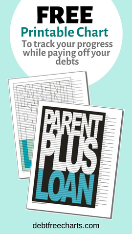 Parent Plus Loan Free Printable Payoff Chart