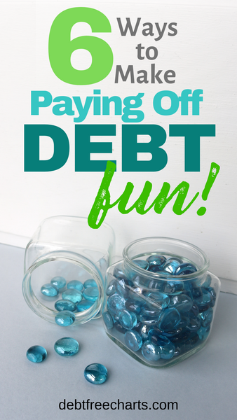 6 ways to make paying off debt fun - visually track your money goals