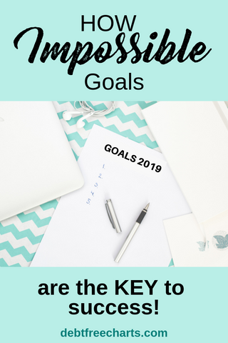 Impossible Goals are the Key to Success - Debt Free Charts