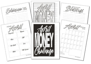 2019 April Money Challenge Pack
