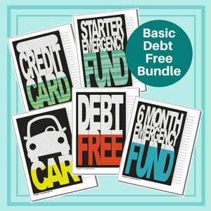 Basic Bundle of 5 Charts