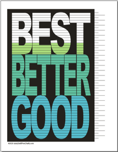 Good Better Best