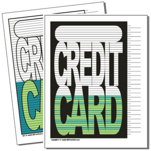 Coloring Pages scales piggy bank credit card money sack Painting ... | 300x300