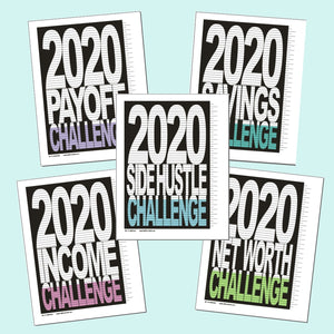 2020 Money Challenge Year - PDF