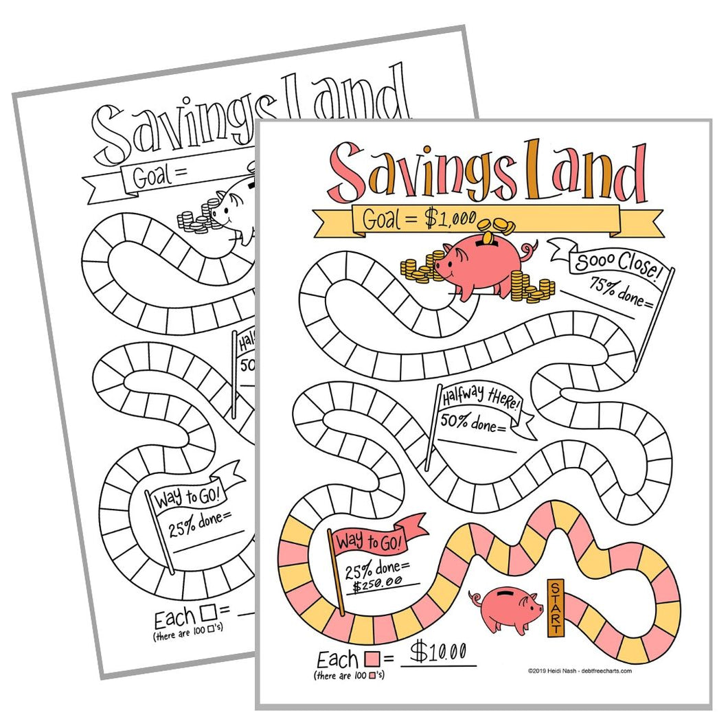 Savings Land Game