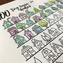 100 Tiny Houses Doodles