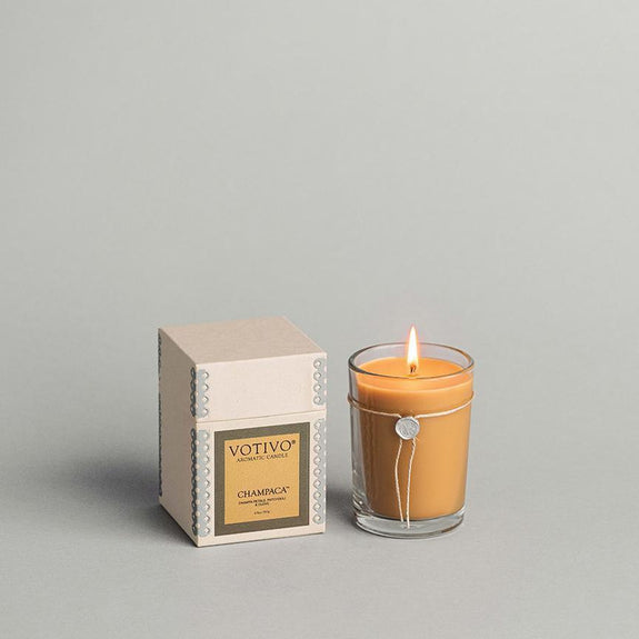 6.8 OZ AROMATIC CANDLE CHAMPACA