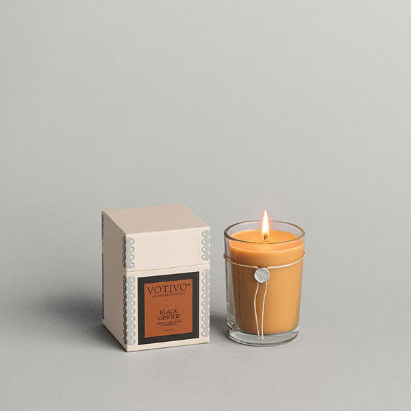 6.8 OZ AROMATIC CANDLE BLACK GINGER