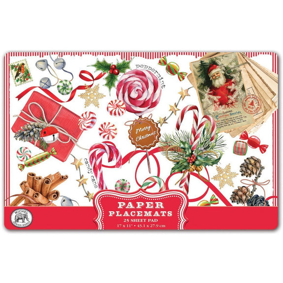 PEPPERMINT PLACEMATS